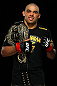 LONDON, ENGLAND - FEBRUARY 16:  UFC interim bantamweight champion Renan Barao poses for a portrait after his victory over Michael McDonald during the UFC on Fuel TV event on February 16, 2013 at Wembley Arena in London, England.  (Photo by Mike Roach/Zuffa LLC/Zuffa LLC via Getty Images)