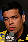 ANAHEIM, CA - FEBRUARY 21:  Lyoto Machida interacts with media during a UFC pre-fight press conference at Honda Center on February 21, 2013 in Anaheim, California.  (Photo by Josh Hedges/Zuffa LLC/Zuffa LLC via Getty Images)
