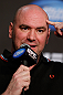 ANAHEIM, CA - FEBRUARY 21:  UFC President Dana White during a UFC pre-fight press conference at Honda Center on February 21, 2013 in Anaheim, California.  (Photo by Josh Hedges/Zuffa LLC/Zuffa LLC via Getty Images)