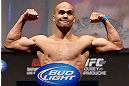 ANAHEIM, CA - FEBRUARY 22:  Robbie Lawler weighs in during the UFC 157 weigh-in at Honda Center on February 22, 2013 in Anaheim, California.  (Photo by Josh Hedges/Zuffa LLC/Zuffa LLC via Getty Images)