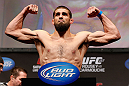 ANAHEIM, CA - FEBRUARY 22:  Court McGee weighs in during the UFC 157 weigh-in at Honda Center on February 22, 2013 in Anaheim, California.  (Photo by Josh Hedges/Zuffa LLC/Zuffa LLC via Getty Images)