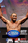 ANAHEIM, CA - FEBRUARY 22:  Dan Henderson weighs in during the UFC 157 weigh-in at Honda Center on February 22, 2013 in Anaheim, California.  (Photo by Josh Hedges/Zuffa LLC/Zuffa LLC via Getty Images)