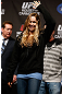 ANAHEIM, CA - FEBRUARY 22:  Ronda Rousey prepares to weigh-in during the UFC 157 weigh-in at Honda Center on February 22, 2013 in Anaheim, California.  (Photo by Josh Hedges/Zuffa LLC/Zuffa LLC via Getty Images)