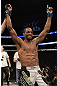 ANAHEIM, CA - FEBRUARY 23:  Neil Magny reacts to his victory over Jon Manley in their welterweight bout during UFC 157 at Honda Center on February 23, 2013 in Anaheim, California.  (Photo by Donald Miralle/Zuffa LLC/Zuffa LLC via Getty Images) *** Local Caption *** Jon Manley; Neil Magny