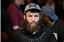 ANAHEIM, CA - FEBRUARY 23:  Michael Chiesa prepares to face Anton Kuivanen in their lightweight bout during UFC 157 at Honda Center on February 23, 2013 in Anaheim, California.  (Photo by Donald Miralle/Zuffa LLC/Zuffa LLC via Getty Images) *** Local Caption *** Michael Chiesa; Anton Kuivanen