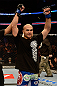 ANAHEIM, CA - FEBRUARY 23:  Robbie Lawler is declared the winner over Josh Koscheck in their welterweight bout during UFC 157 at Honda Center on February 23, 2013 in Anaheim, California.  (Photo by Donald Miralle/Zuffa LLC/Zuffa LLC via Getty Images) *** Local Caption *** Josh Koscheck; Robbie Lawler