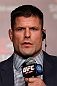 TOKYO, JAPAN - FEBRUARY 28: Brian Stann interacts with media during a UFC press conference at the Hilton Sjinjuku Hotel on February 28, 2013 in Tokyo, Japan. (Photo by Josh Hedges/Zuffa LLC/Zuffa LLC via Getty Images)
