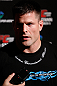 TOKYO, JAPAN - FEBRUARY 28: Brian Stann talks with media after an open training session at the Hilton Sjinjuku Hotel on February 28, 2013 in Tokyo, Japan. (Photo by Josh Hedges/Zuffa LLC/Zuffa LLC via Getty Images)