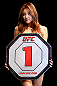 SAITAMA, JAPAN - MARCH 03:  UFC Octagon Girl Su-Jung Lee introduces a round during the UFC on FUEL TV event at Saitama Super Arena on March 3, 2013 in Saitama, Japan.  (Photo by Josh Hedges/Zuffa LLC/Zuffa LLC via Getty Images)