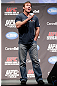 MONTREAL, QC - MARCH 15: Matt Hughes interacts with fans during a Q&A session before the UFC 158 weigh-in at Bell Centre on March 15, 2013 in Montreal, Quebec, Canada. (Photo by Josh Hedges/Zuffa LLC/Zuffa LLC via Getty Images)