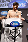 MONTREAL, QC - MARCH 15:  Dan Miller weighs in during the UFC 158 weigh-in at Bell Centre on March 15, 2013 in Montreal, Quebec, Canada.  (Photo by Josh Hedges/Zuffa LLC/Zuffa LLC via Getty Images)