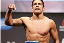 MONTREAL, QC - MARCH 15: Jake Ellenberger weighs in during the UFC 158 weigh-in at Bell Centre on March 15, 2013 in Montreal, Quebec, Canada.  (Photo by Josh Hedges/Zuffa LLC/Zuffa LLC via Getty Images)