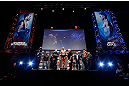 MONTREAL, QC - MARCH 15:  Georges St-Pierre weighs in during the UFC 158 weigh-in at Bell Centre on March 15, 2013 in Montreal, Quebec, Canada.  (Photo by Josh Hedges/Zuffa LLC/Zuffa LLC via Getty Images)