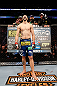 MONTREAL, QC - MARCH 16:  Carlos Condit stands in the Octagon before his welterweight bout against Johny Hendricks during the UFC 158 event at Bell Centre on March 16, 2013 in Montreal, Quebec, Canada.  (Photo by Josh Hedges/Zuffa LLC/Zuffa LLC via Getty Images)