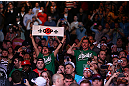 MONTREAL, QC - MARCH 16:  A general view of fans in attendance during the UFC 158 event at Bell Centre on March 16, 2013 in Montreal, Quebec, Canada.  (Photo by Jonathan Ferrey/Zuffa LLC/Zuffa LLC via Getty Images)