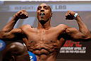 NEWARK, NJ - APRIL 26:   Phil Davis weighs in during the UFC 159 weigh-in event at the Prudential Center on April 26, 2013 in Newark, New Jersey.  (Photo by Josh Hedges/Zuffa LLC/Zuffa LLC via Getty Images)