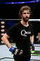 NEWARK, NJ - APRIL 27:  Cody McKenzie, winner by unanimous decision against Leonard Garcia, looks on after their featherweight bout during the UFC 159 event at the Prudential Center on April 27, 2013 in Newark, New Jersey.  (Photo by Al Bello/Zuffa LLC/Zuffa LLC Via Getty Images)
