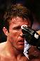 NEWARK, NJ - APRIL 27: Chael Sonnen is tended to after losing to Jon Jones by knockout in their light heavyweight championship bout during the UFC 159 event at the Prudential Center on April 27, 2013 in Newark, New Jersey.  (Photo by Al Bello/Zuffa LLC/Zuffa LLC Via Getty Images)