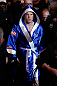 NEWARK, NJ - APRIL 27:   Chael Sonnen enters the arena before his light heavyweight championship fight against UFC Light Heavyweight Champion Jon &quot;Bones&quot; Jones during the UFC 159 event at the Prudential Center on April 27, 2013 in Newark, New Jersey.  (Photo by Josh Hedges/Zuffa LLC/Zuffa LLC via Getty Images)