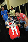 LAS VEGAS, NV - JULY 06:  Carlos Condit poses with fans at the UFC Fan Expo on July 6, 2012 in Las Vegas, Nevada. (Photo by Al Powers /Zuffa LLC/Zuffa LLC via Getty Images) *** Local Caption *** Carlos Condit