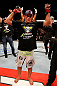 JARAGUA DO SUL, BRAZIL - MAY 18:   Paulo Thiago reacts after his victory over Michel Prazeres in their welterweight bout during the UFC on FX event on May 18, 2013 at Arena Jaragua in Jaragua do Sul, Santa Catarina, Brazil.  (Photo by Josh Hedges/Zuffa LLC/Zuffa LLC via Getty Images)