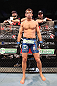 JARAGUA DO SUL, BRAZIL - MAY 18: Luke Rockhold stands in his corner before his middleweight bout against Vitor Belfort during the UFC on FX event on May 18, 2013 at Arena Jaragua in Jaragua do Sul, Santa Catarina, Brazil. (Photo by Josh Hedges/Zuffa LLC/Zuffa LLC via Getty Images)