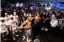 FORTALEZA, BRAZIL - JUNE 08:  Fabricio Werdum prepares to enter the Octagon before his heavyweight fight against Antonio Rodrigo