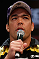 RIO DE JANEIRO, BRAZIL - AUGUST 01:  Lyoto Machida interacts with fans and media during a pre-fight press conference at Circo Voador on August 1, 2013 in Rio de Janeiro, Brazil. (Photo by Josh Hedges/Zuffa LLC/Zuffa LLC via Getty Images)