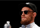 BOSTON, MA - AUGUST 15:  Conor McGregor during a UFC press conference at the Wang Theatre on August 15, 2013 in Boston, Massachusetts. (Photo by Josh Hedges/Zuffa LLC/Zuffa LLC via Getty Images)