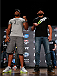 BOSTON, MA - AUGUST 15:  (L-R) Opponents Alistair Overeem and Travis Browne pose for photos during a UFC press conference at the Wang Theatre on August 15, 2013 in Boston, Massachusetts. (Photo by Josh Hedges/Zuffa LLC/Zuffa LLC via Getty Images)