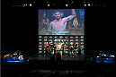 MILWAUKEE, WI - AUGUST 30:  Josh Barnett weighs in during the UFC weigh-in inside the BMO Harris Bradley Center on August 30, 2013 in Milwaukee, Wisconsin. (Photo by Jeff Bottari/Zuffa LLC/Zuffa LLC via Getty Images) *** Local Caption *** Josh Barnett