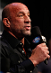 LAS VEGAS, NV - NOVEMBER 15:  UFC legend Mark Coleman interacts with fans during a Q&A session before the UFC 167 weigh-in inside the MGM Grand Garden Arena on November 15, 2013 in Las Vegas, Nevada. (Photo by Josh Hedges/Zuffa LLC/Zuffa LLC via Getty Images)