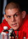 SACRAMENTO, CA - DECEMBER 12:  Joe Lauzon interacts with media during the final pre-fight press conference before the UFC on FOX event at Sleep Train Arena on December 12, 2013 in Sacramento, California. (Photo by Josh Hedges/Zuffa LLC/Zuffa LLC via Getty Images)