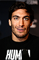 QUEBEC CITY, CANADA - APRIL 14:  Elias Theodorou interacts with media during the UFC Ultimate Media Day at the TRYP Quebec Hotel on April 14, 2014 in Quebec City, Quebec, Canada. (Photo by Josh Hedges/Zuffa LLC/Zuffa LLC via Getty Images)