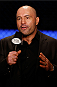 ORLANDO, FL - APRIL 19:  UFC color commentator Joe Rogan speaks on camera during the FOX UFC Saturday event at the Amway Center on April 19, 2014 in Orlando, Florida. (Photo by Josh Hedges/Zuffa LLC/Zuffa LLC via Getty Images)