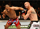 ORLANDO, FL - APRIL 19:  (L-R) Edson Barboza punches Donald