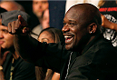 ORLANDO, FL - APRIL 19:  NBA legend Shaquille O'Neal attends the FOX UFC Saturday event at the Amway Center on April 19, 2014 in Orlando, Florida. (Photo by Josh Hedges/Zuffa LLC/Zuffa LLC via Getty Images)