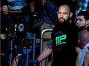 ORLANDO, FL - APRIL 19:  Travis Browne enters the arena before his heavyweight bout against Fabricio Werdum during the FOX UFC Saturday event at the Amway Center on April 19, 2014 in Orlando, Florida. (Photo by Josh Hedges/Zuffa LLC/Zuffa LLC via Getty Images)