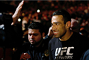 ORLANDO, FL - APRIL 19:  Fabricio Werdum enters the arena before his heavyweight bout against Travis Browne during the FOX UFC Saturday event at the Amway Center on April 19, 2014 in Orlando, Florida. (Photo by Josh Hedges/Zuffa LLC/Zuffa LLC via Getty Images)