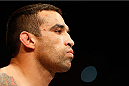 ORLANDO, FL - APRIL 19:  Fabricio Werdum stands in the Octagon before his heavyweight bout against Travis Browne during the FOX UFC Saturday event at the Amway Center on April 19, 2014 in Orlando, Florida. (Photo by Josh Hedges/Zuffa LLC/Zuffa LLC via Getty Images)