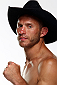 "ORLANDO, FL - APRIL 19:  Donald ""Cowboy"" Cerrone poses for a post-fight portrait after his victory over Edson Barboza during the FOX UFC Saturday event at the Amway Center on April 19, 2014 in Orlando, Florida. (Photo by Mike Roach/Zuffa LLC/Zuffa LLC via Getty Images)"