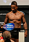 CINCINNATI, OH - MAY 09:  Lorenz Larkin weighs in during the UFC weigh-in at the U.S. Bank Arena on May 9, 2014 in Cincinnati, Ohio. (Photo by Josh Hedges/Zuffa LLC/Zuffa LLC via Getty Images)