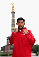 BERLIN, GERMANY - MAY 28:  Mark Munoz pose during a Guerillia open air training session for fans and media at Victoria Statue on May 28, 2014 in Berlin, Germany.  (Photo by Boris Streubel/Zuffa LLC/Zuffa LLC via Getty Images)