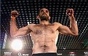 BERLIN, GERMANY - MAY 30:  Peter Sobotta poses on the scale during the UFC weigh-in at O2 World on May 30, 2014 in Berlin, Germany.  (Photo by Boris Streubel/Zuffa LLC/Zuffa LLC via Getty Images)