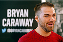 ALBUQUERQUE, NM - JUNE 05:  Bryan Caraway interacts with media during the UFC Ultimate Media day at EXPO New Mexico on June 5, 2014 in Albuquerque, New Mexico. (Photo by Josh Hedges/Zuffa LLC/Zuffa LLC via Getty Images)