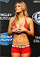 ALBUQUERQUE, NM - JUNE 06:  UFC Octagon Girl Chrissy Blair stands on stage during the UFC Fight Night weigh-in at Tingley Coliseum on June 6, 2014 in Albuquerque, New Mexico.  (Photo by Josh Hedges/Zuffa LLC/Zuffa LLC via Getty Images)