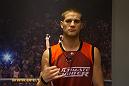 Matt Van Buren before his bout with Chris Fields.