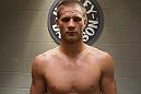 Matt Van Buren following his Ultimate Fighter win over Chris Fields.