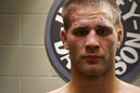 A close up of Matt Van Buren following his Ultimate Fighter win over Chris Fields.