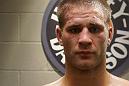 A close up of Matt Van Buren following his Ultimate Fighter win over Chris Fields.